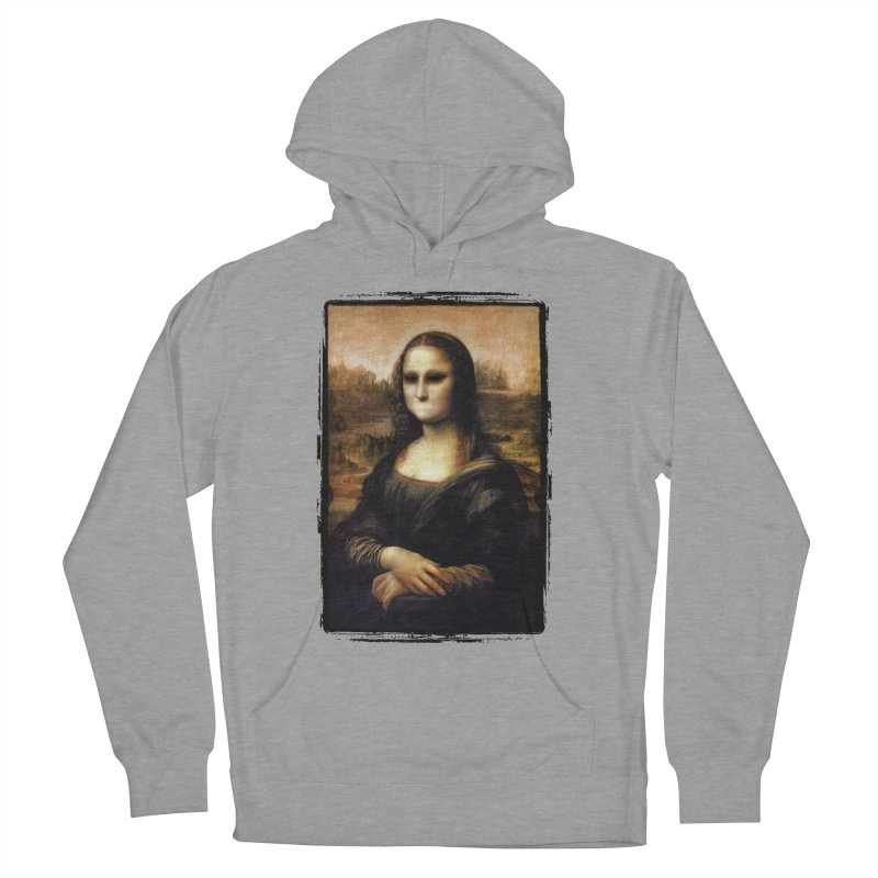 Silent Mona Lisa Women's French Terry Pullover Hoody by Kamonkey's Artist Shop