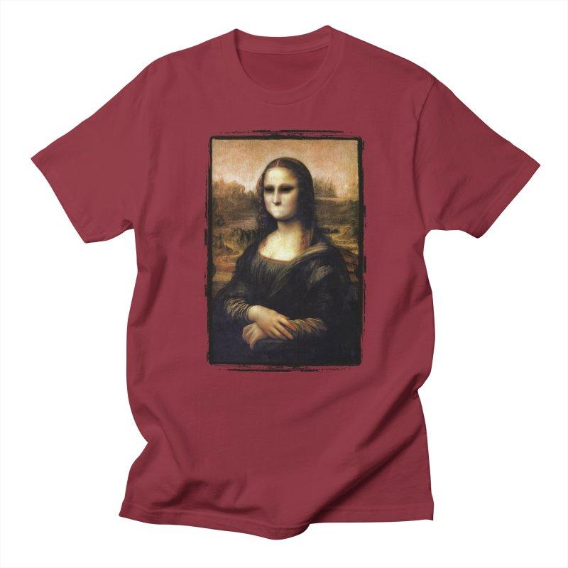 Silent Mona Lisa Women's Regular Unisex T-Shirt by Kamonkey's Artist Shop