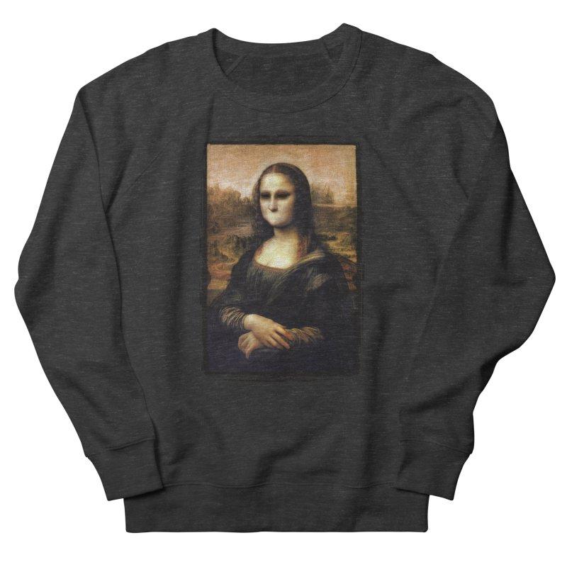Silent Mona Lisa Women's French Terry Sweatshirt by Kamonkey's Artist Shop
