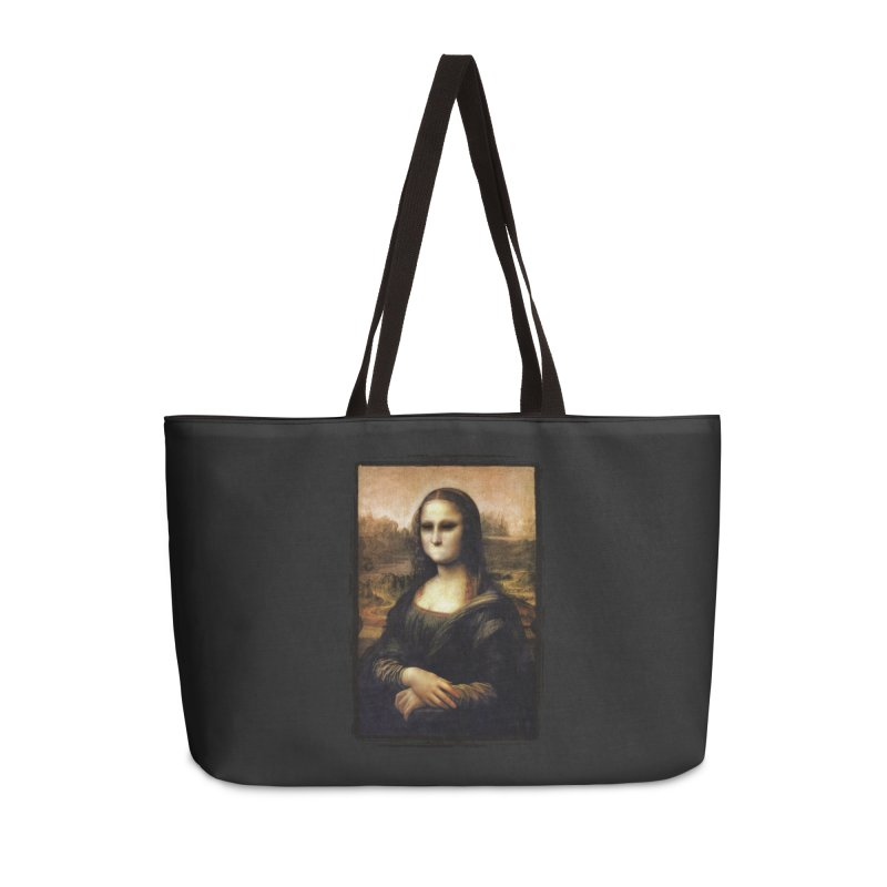 Silent Mona Lisa Accessories Weekender Bag Bag by Kamonkey's Artist Shop