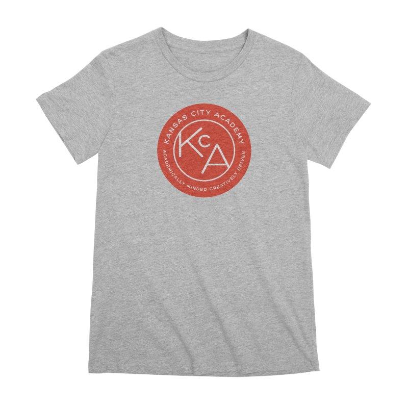 KCA logo Women's Premium T-Shirt by Kansas City Academy Gear