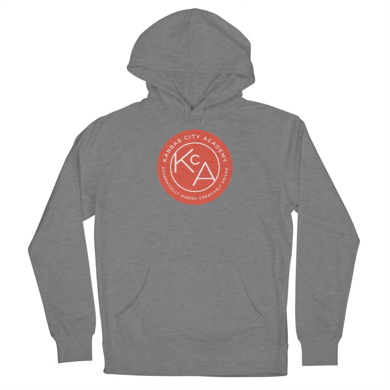 KCA logo Men's French Terry Pullover Hoody by Kansas City Academy Gear