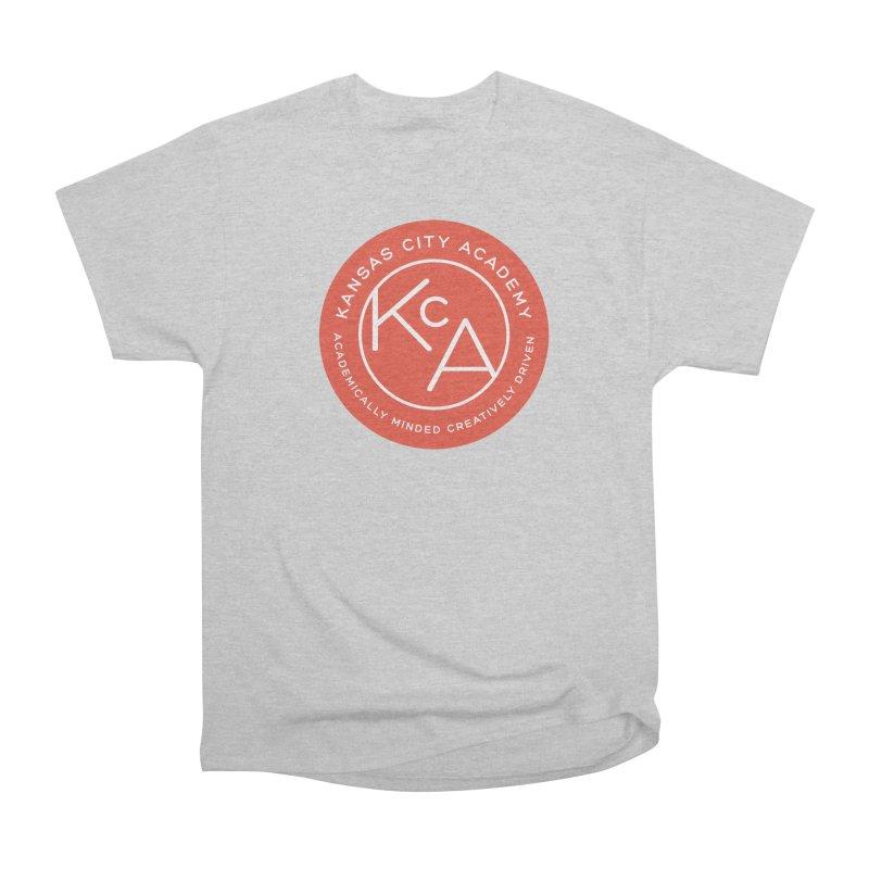 KCA logo Women's Heavyweight Unisex T-Shirt by Kansas City Academy Gear