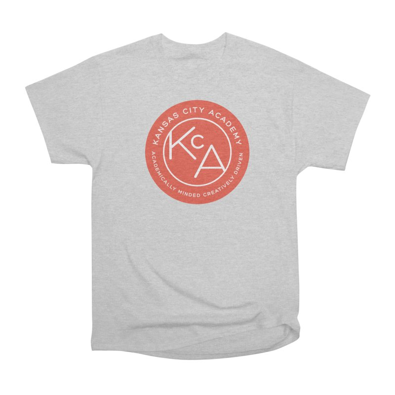 KCA logo Men's Heavyweight T-Shirt by Kansas City Academy Gear