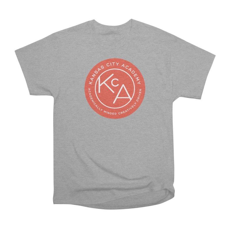 KCA logo Men's Heavyweight T-Shirt by Kansas City Academy Gear