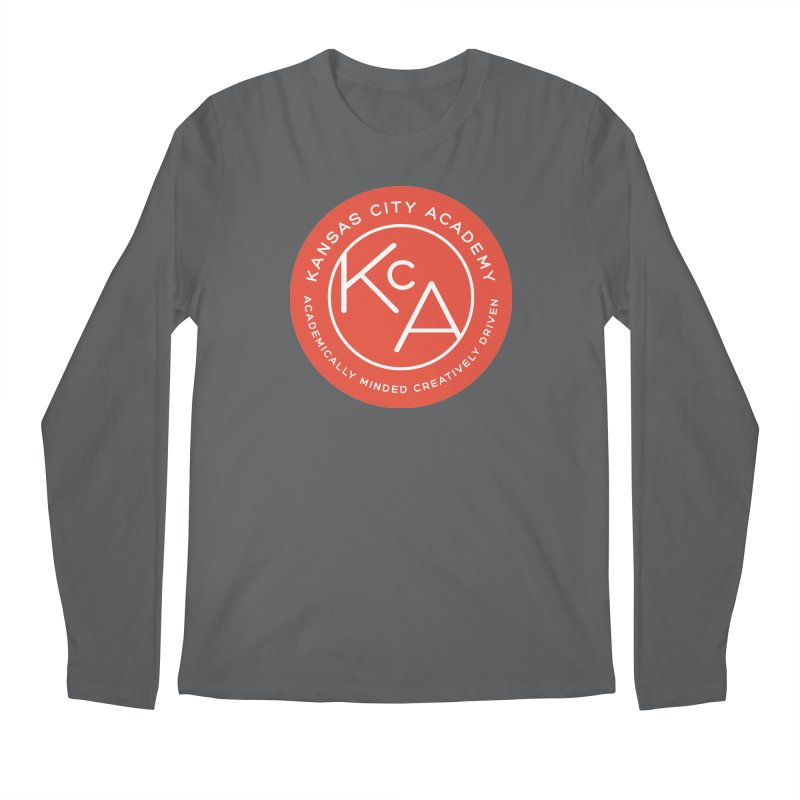 KCA logo Men's Longsleeve T-Shirt by Kansas City Academy Gear