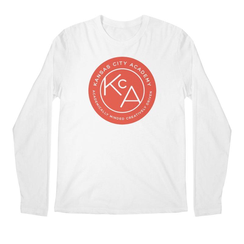KCA logo Men's Regular Longsleeve T-Shirt by Kansas City Academy Gear