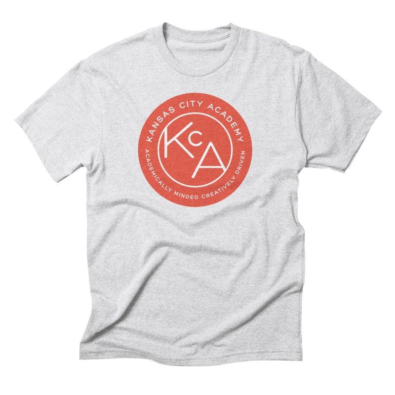 KCA logo Men's Triblend T-Shirt by Kansas City Academy Gear