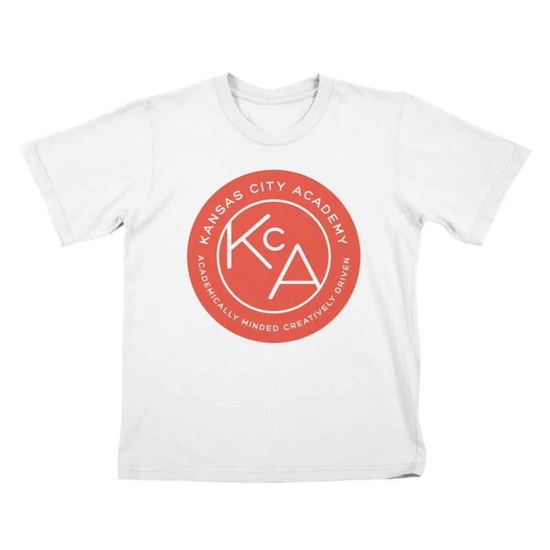 KCA logo Kids T-Shirt by Kansas City Academy Gear