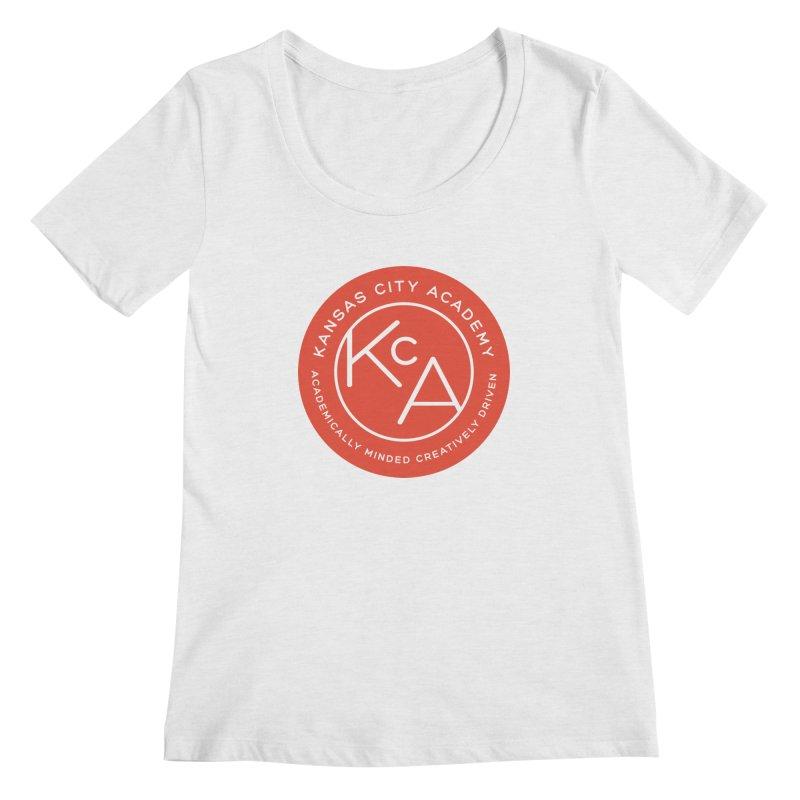 KCA logo Women's Scoop Neck by Kansas City Academy Gear