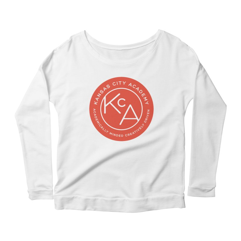 KCA logo Women's Scoop Neck Longsleeve T-Shirt by Kansas City Academy Gear