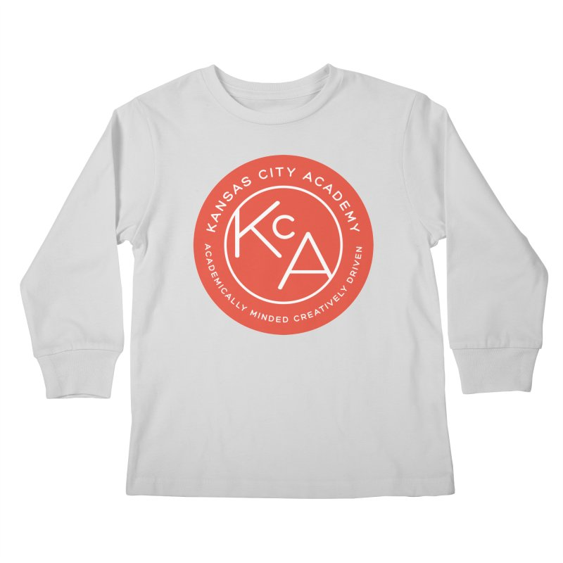 KCA logo Kids Longsleeve T-Shirt by Kansas City Academy Gear