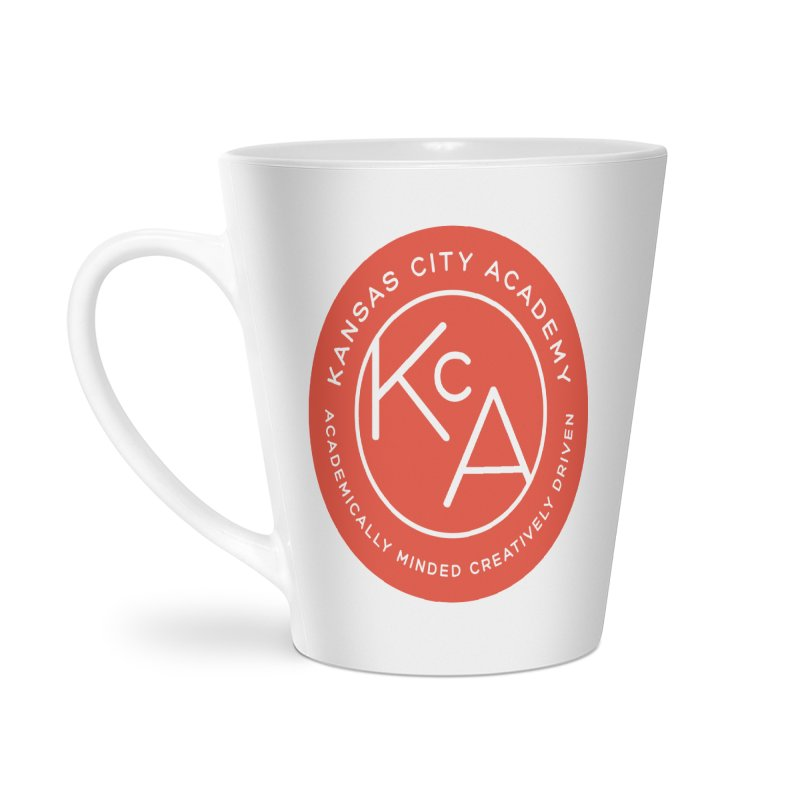 KCA logo Accessories Latte Mug by Kansas City Academy Gear