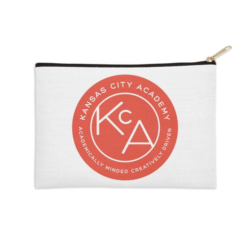 KCA logo Accessories Zip Pouch by Kansas City Academy Gear