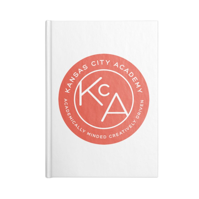 KCA logo Accessories Lined Journal Notebook by Kansas City Academy Gear