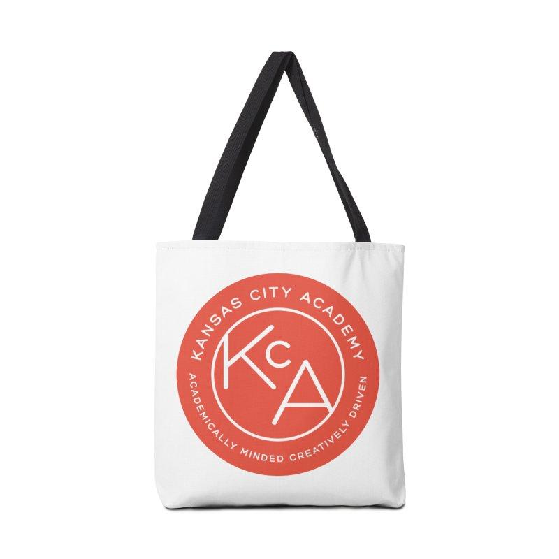 KCA logo Accessories Tote Bag Bag by Kansas City Academy Gear