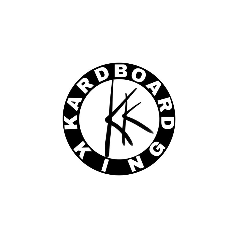 King Round Logo Men's T-Shirt by Kardboard King's Shop