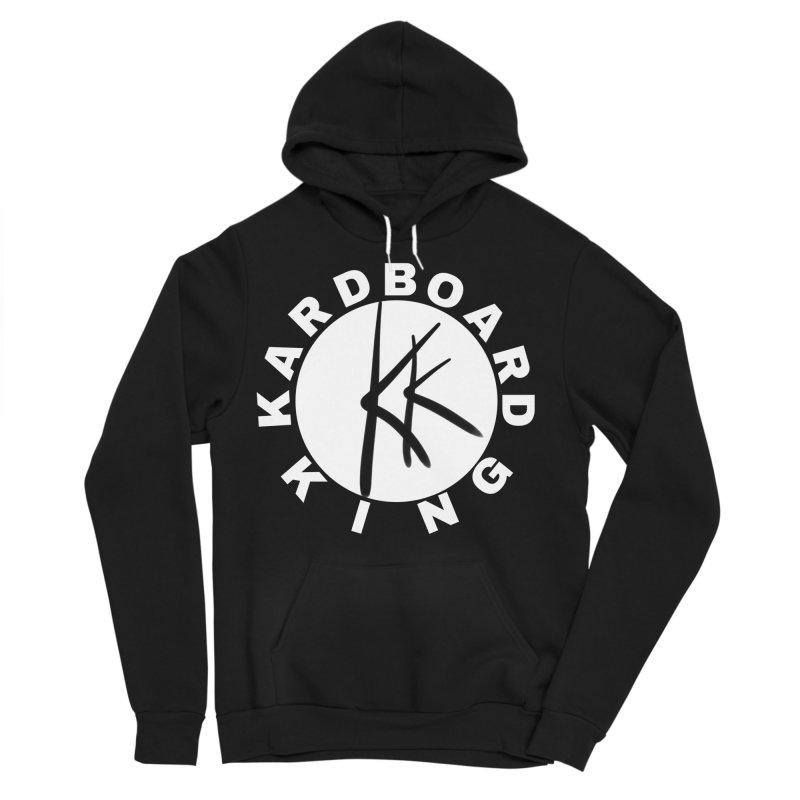 King Round Logo Men's Sponge Fleece Pullover Hoody by Kardboard King's Shop