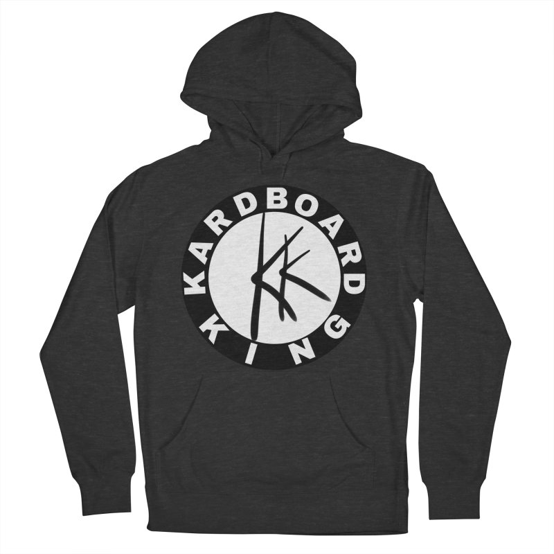 King Round Logo Women's French Terry Pullover Hoody by Kardboard King's Shop