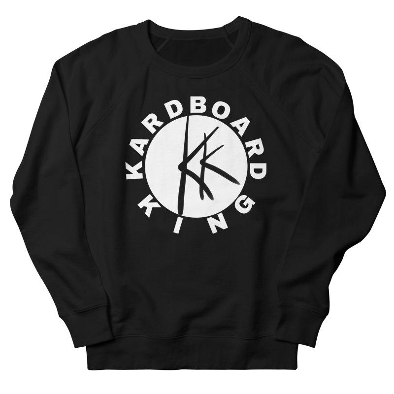 King Round Logo Women's French Terry Sweatshirt by Kardboard King's Shop