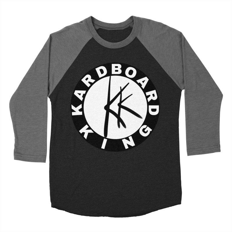 King Round Logo Women's Baseball Triblend Longsleeve T-Shirt by Kardboard King's Shop