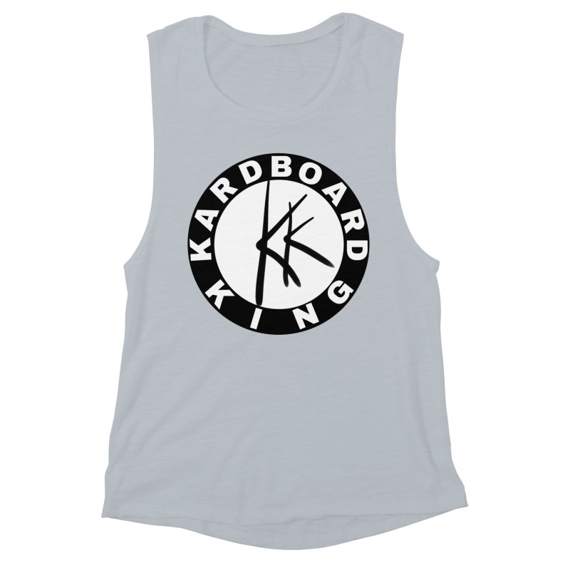 King Round Logo Women's Muscle Tank by Kardboard King's Shop