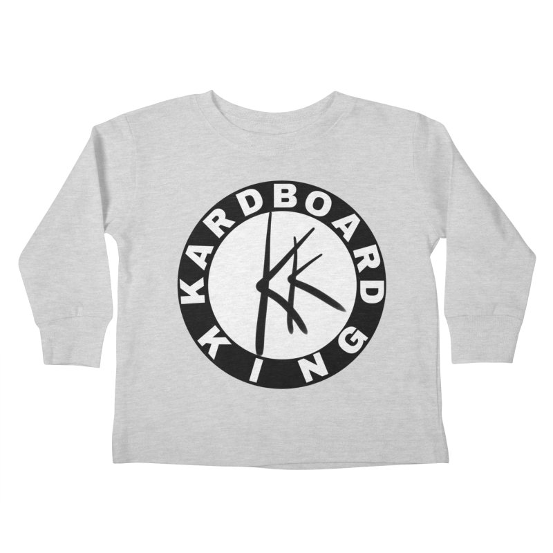 King Round Logo Kids Toddler Longsleeve T-Shirt by Kardboard King's Shop