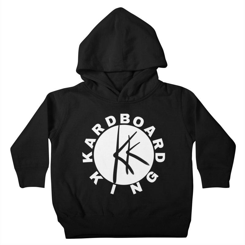 King Round Logo Kids Toddler Pullover Hoody by Kardboard King's Shop