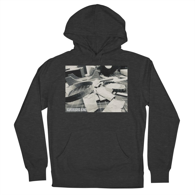 King Desk 1 Women's French Terry Pullover Hoody by Kardboard King's Shop