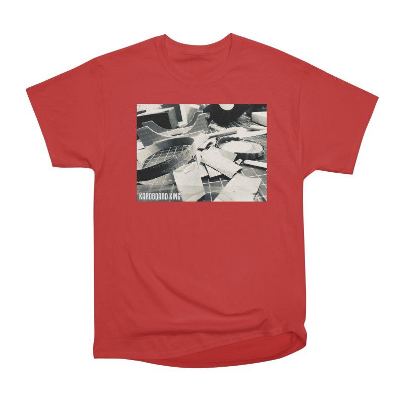 King Desk 1 Men's Heavyweight T-Shirt by Kardboard King's Shop