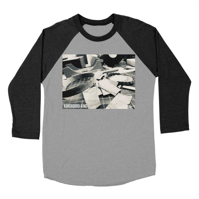 King Desk 1 Men's Baseball Triblend Longsleeve T-Shirt by Kardboard King's Shop