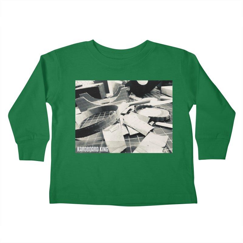 King Desk 1 Kids Toddler Longsleeve T-Shirt by Kardboard King's Shop