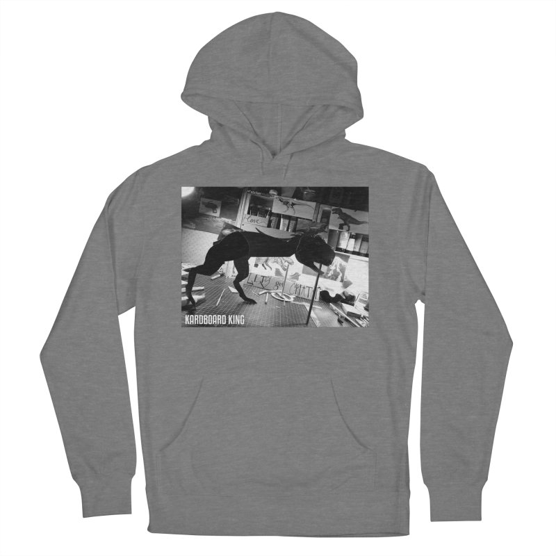 Ralph the Rex Women's French Terry Pullover Hoody by Kardboard King's Shop