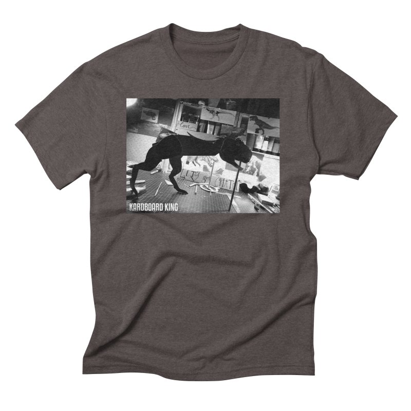 Ralph the Rex in Men's Triblend T-Shirt Tri-Coffee by Kardboard King's Shop