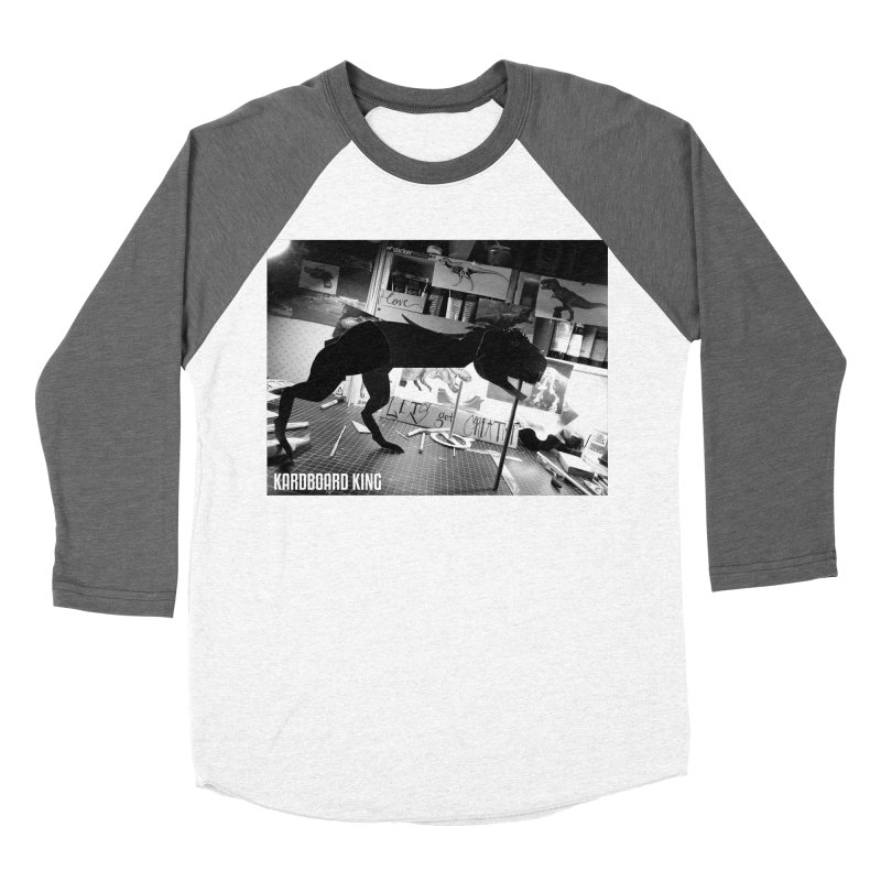Ralph the Rex Women's Baseball Triblend Longsleeve T-Shirt by Kardboard King's Shop