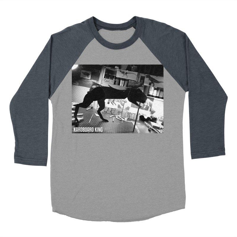 Ralph the Rex Men's Baseball Triblend Longsleeve T-Shirt by Kardboard King's Shop