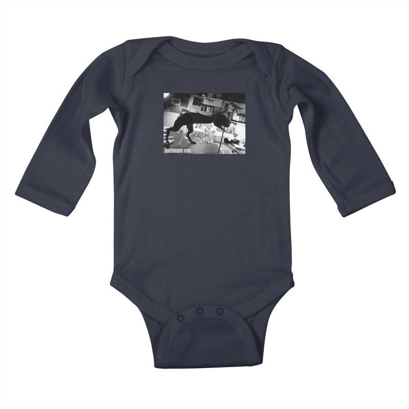 Ralph the Rex Kids Baby Longsleeve Bodysuit by Kardboard King's Shop