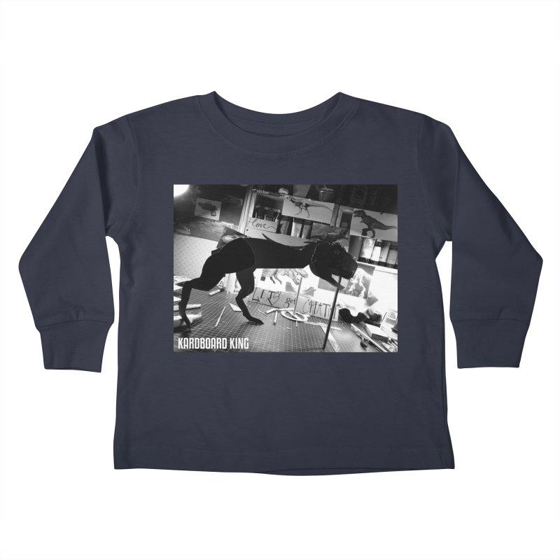 Ralph the Rex Kids Toddler Longsleeve T-Shirt by Kardboard King's Shop