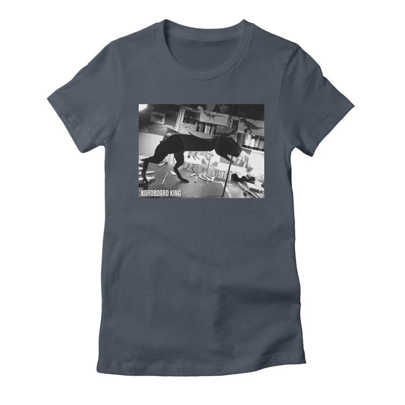 Ralph the Rex Women's Fitted T-Shirt by Kardboard King's Shop