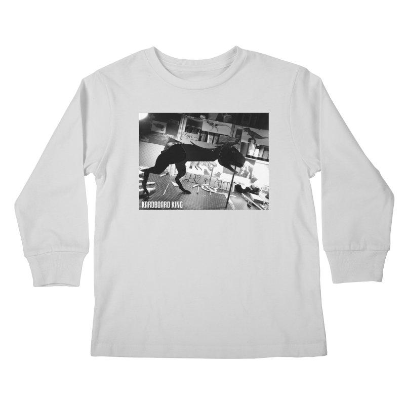 Ralph the Rex Kids Longsleeve T-Shirt by Kardboard King's Shop