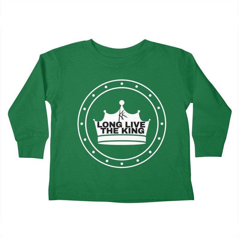 Long live the King Kids Toddler Longsleeve T-Shirt by Kardboard King's Shop