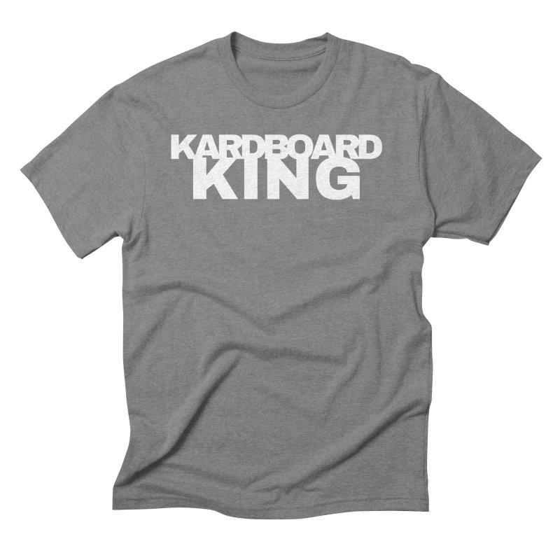 KARDBOARD KING Men's Triblend T-Shirt by Kardboard King's Shop
