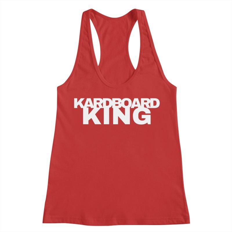KARDBOARD KING Women's Racerback Tank by Kardboard King's Shop