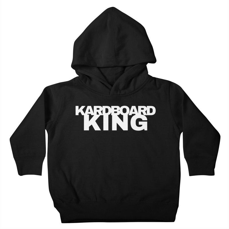 KARDBOARD KING Kids Toddler Pullover Hoody by Kardboard King's Shop