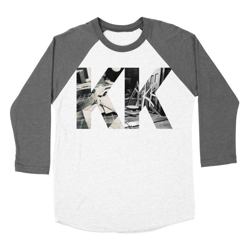KK PHOTO LOGO Women's Baseball Triblend Longsleeve T-Shirt by Kardboard King's Shop