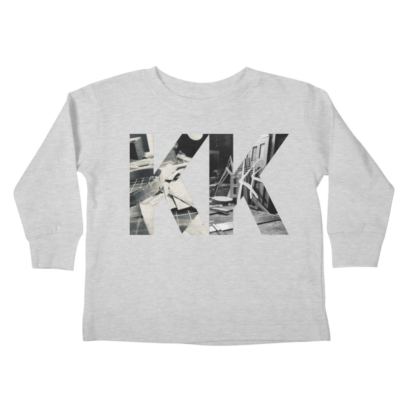 KK PHOTO LOGO Kids Toddler Longsleeve T-Shirt by Kardboard King's Shop