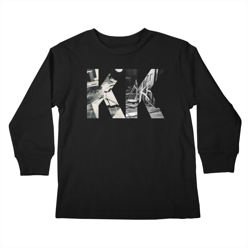 KK PHOTO LOGO Kids Longsleeve T-Shirt by Kardboard King's Shop