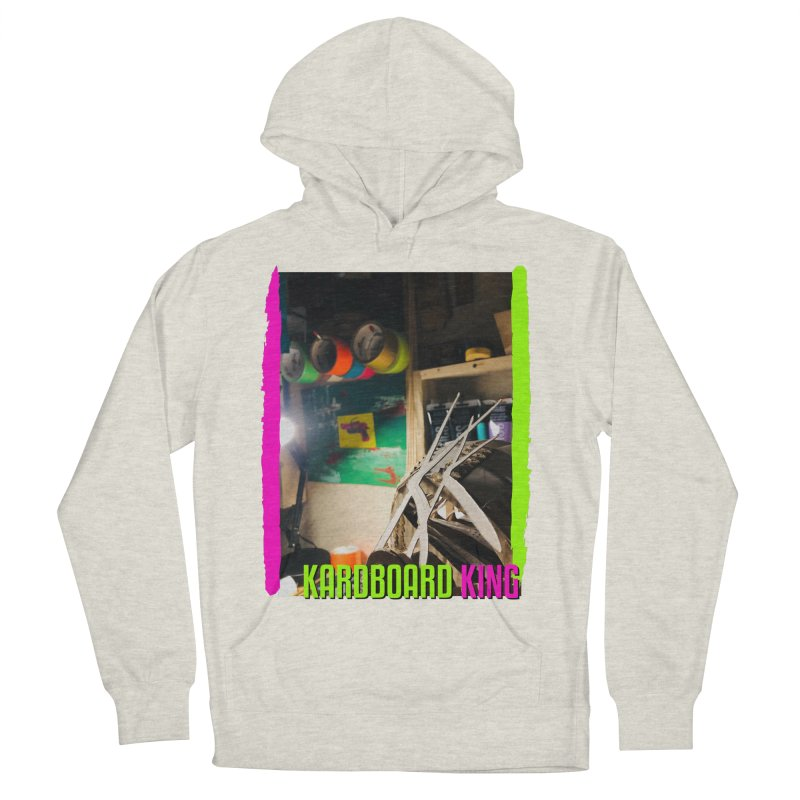 KINGS COLOR DESK Women's French Terry Pullover Hoody by Kardboard King's Shop