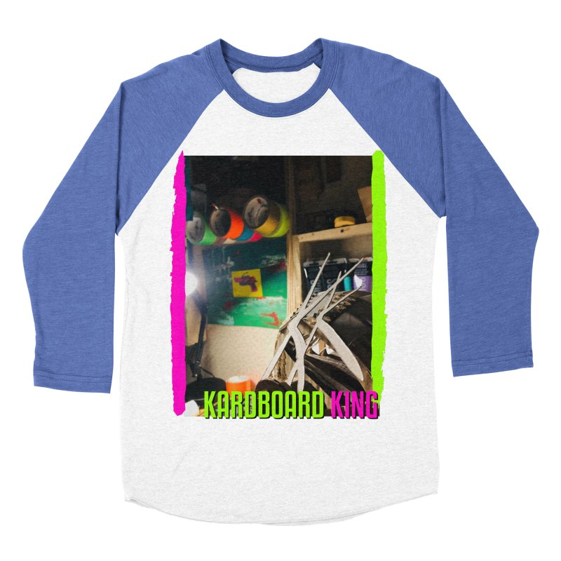 KINGS COLOR DESK Women's Baseball Triblend Longsleeve T-Shirt by Kardboard King's Shop