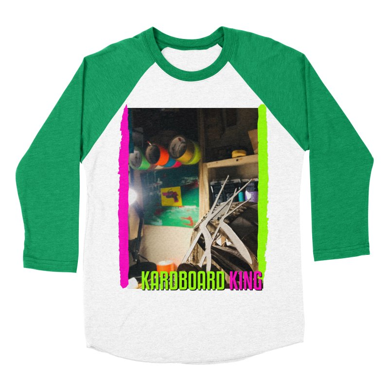 KINGS COLOR DESK Men's Baseball Triblend Longsleeve T-Shirt by Kardboard King's Shop